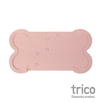 Trico 瞬吸珪藻土寵物墊-粉紅