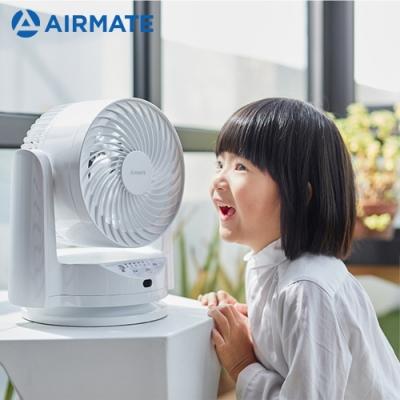 [時時樂限定]AIRMATE艾美特 6吋 3段速遙控定時空氣循環扇 FB1566R