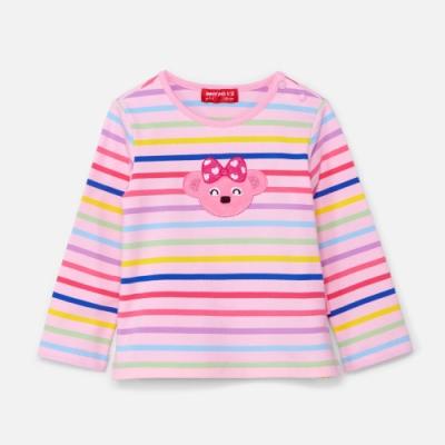 WHY AND 1/2 mini 條紋棉質萊卡T恤 1Y~4Y