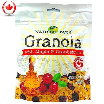 NATURAL PARK 格蘭諾拉麥片-楓糖&蔓越莓口味(170g)