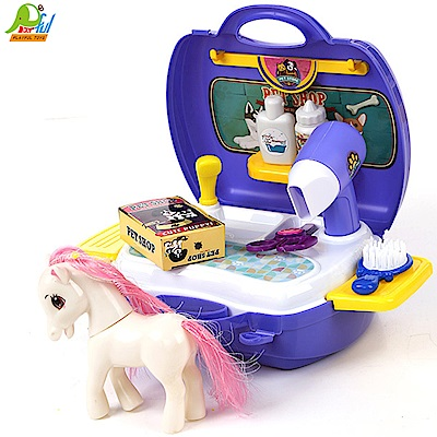 【Playful Toys 頑玩具】手提小馬寵物盒