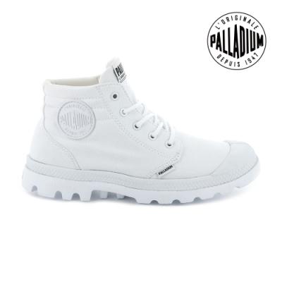 PALLADIUM BLANC LITE LOW CUFF輕量低筒靴-男-白