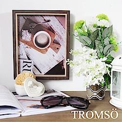TROMSO品味時代-傑克木紋雙色8X10相框-咖木紋
