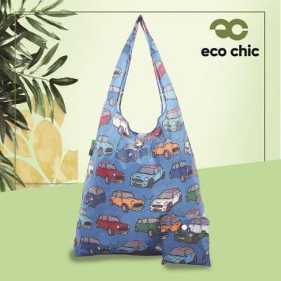英國ECO 時尚摺疊購物袋-迷你車(100%再生環保纖維布料)(快)
