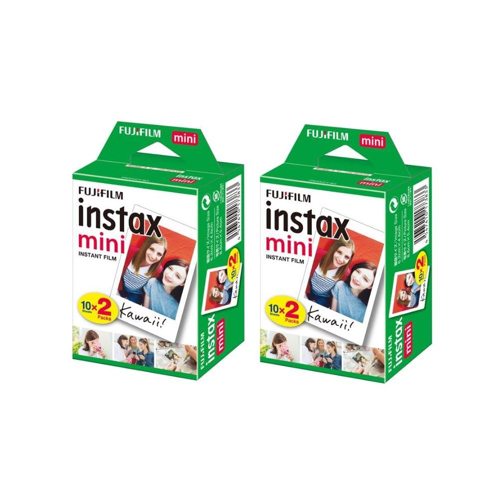 富士 instax mini 空白底片 2盒 (4入共40張)
