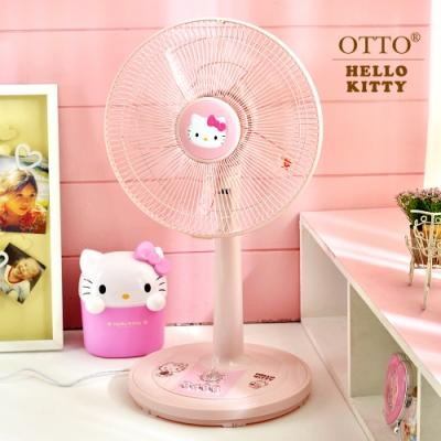 [時時樂限定]HELLO KITTY 12吋 3段速定時機械式電風扇 KT-826 台灣製