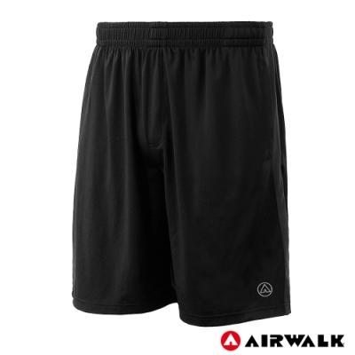 【AIRWALK】男款剪接運動短褲-共兩色