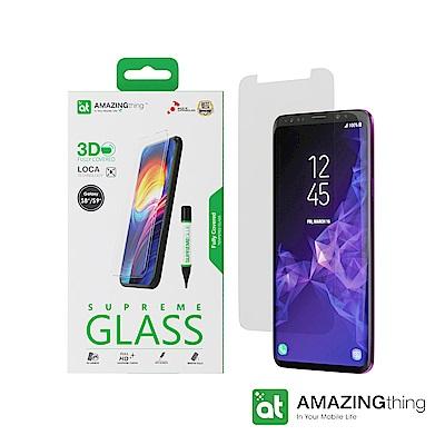 AMAZINGthing 三星 Galaxy S9+/S8+滿版強化玻璃保護貼(LOCA)