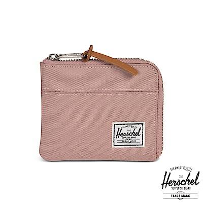 Herschel Johnny 零錢包-粉沙色