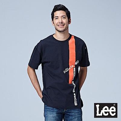 Lee 撞色寬版短袖圓領TEE @ Y!購物