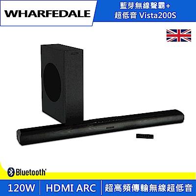 英國Wharfedale 藍芽無線聲霸+超低音 Vista 200S
