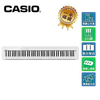 CASIO PX-S1000 88鍵數位電鋼琴 典雅白色款