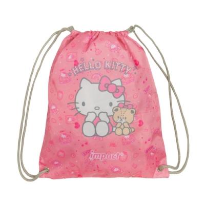 【IMPACT】甜甜凱蒂束口袋-粉紅 IMKTD04PK