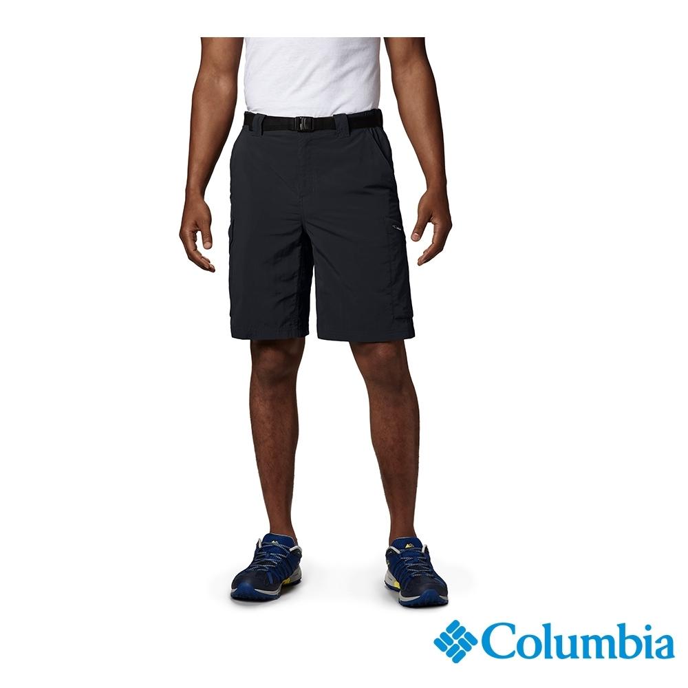 Columbia 哥倫比亞 男款-UPF50 快排 短褲-黑色 UAM40840BK