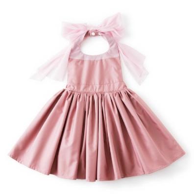 MARLMARL兒童用餐圍裙 女孩/粉紅(Baby 80-90cm)