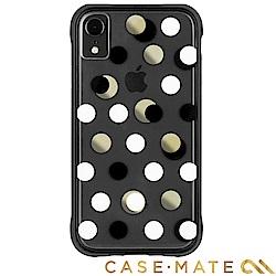 美國 Case-Mate iPhone XR Wallpapers 防摔手機殼- 黑金圓點