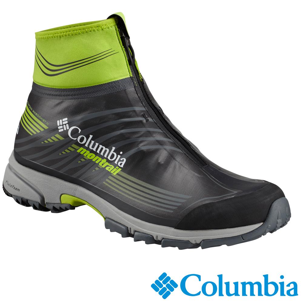 Columbia 哥倫比亞 男款-Outdry防水高筒機能野跑鞋UBM46450