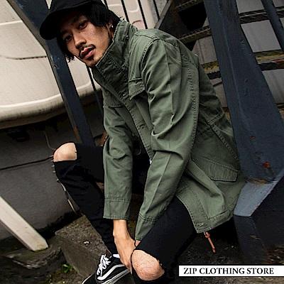 ZIP日本男裝 M-65軍裝夾克外套