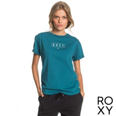 【ROXY】EPIC AFTERNOON WORD B T恤 海軍藍