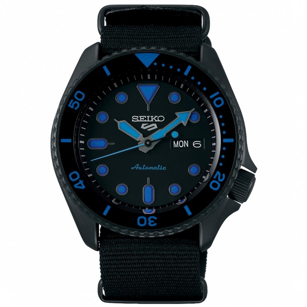 SEIKO精工 5 Sports系列 潮流機械錶(SRPD81K1)