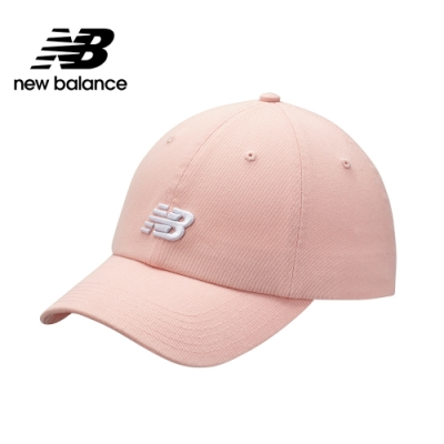New Balance LOGO棒球帽_中性_粉橘_LAH91014PSA