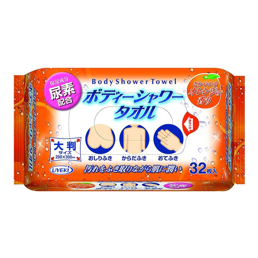 UYEKI 柑橘香氛浴感濕紙巾(保濕成分) - 32入/裝