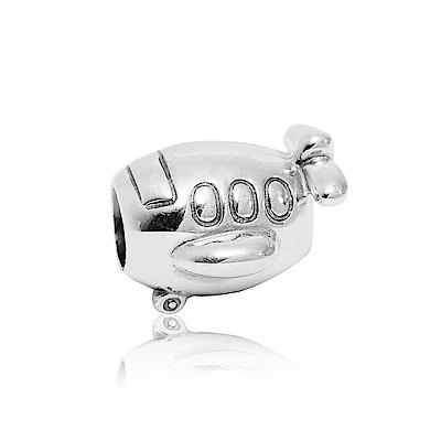 Pandora 潘朵拉 魅力飛機 純銀墜飾 串珠