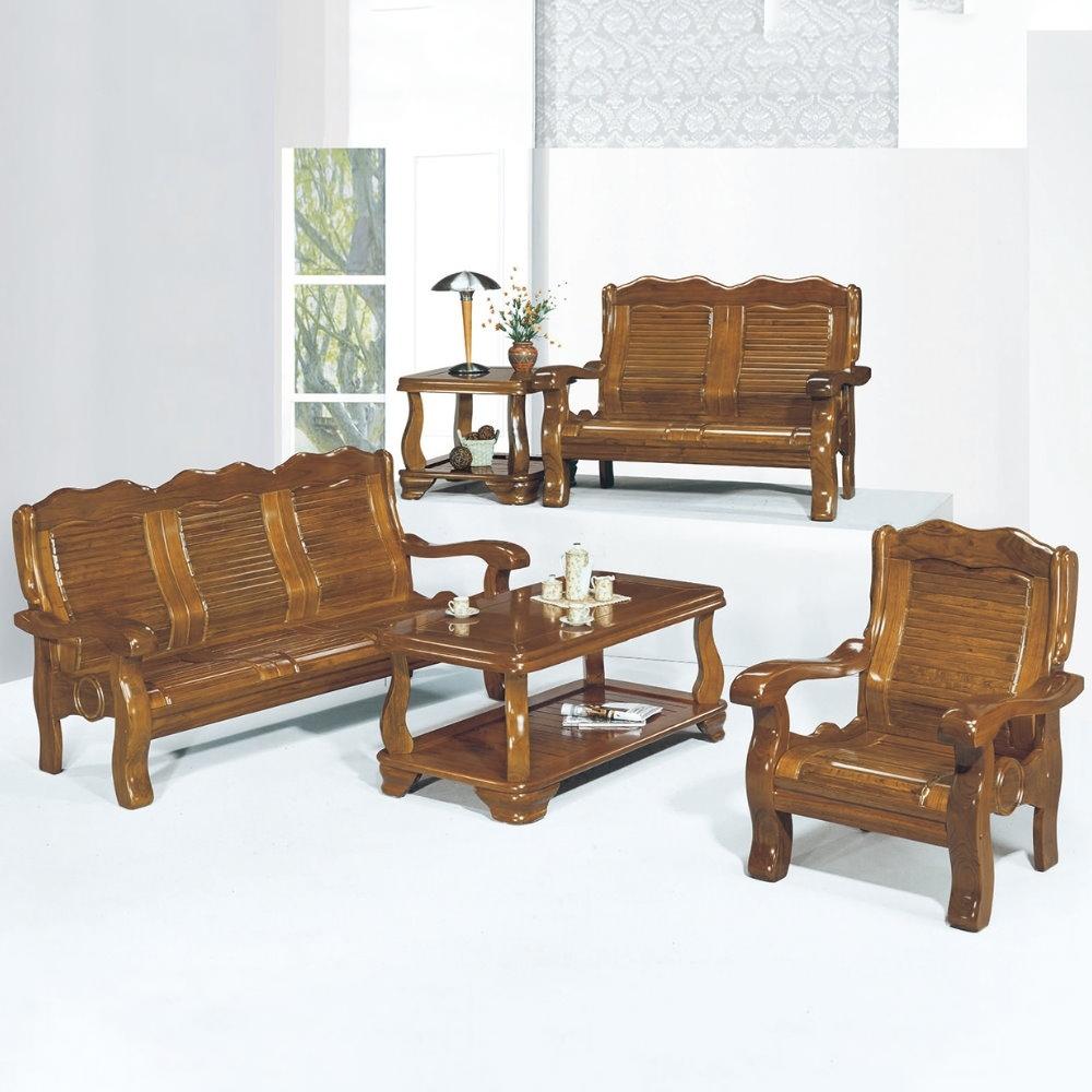 MUNA 8012型實木組椅(全組)共兩色(附坐墊)  188X79X94cm