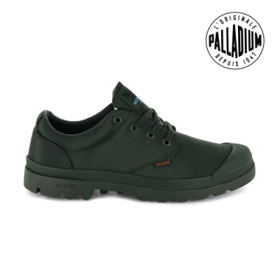 PALLADIUM PAMPA OX PUDDLE LITE+ WP+輕量防水鞋-中性-綠