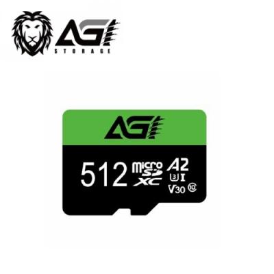 AGI 512G  V30 A2 microSD記憶卡