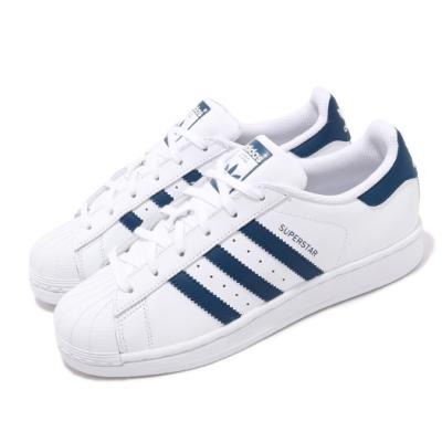 adidas 休閒鞋 Superstar 皮革 穿搭 女鞋