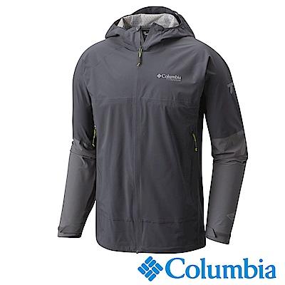 Columbia哥倫比亞 男款-鈦OT防水快排外套-深灰 URE00170DY