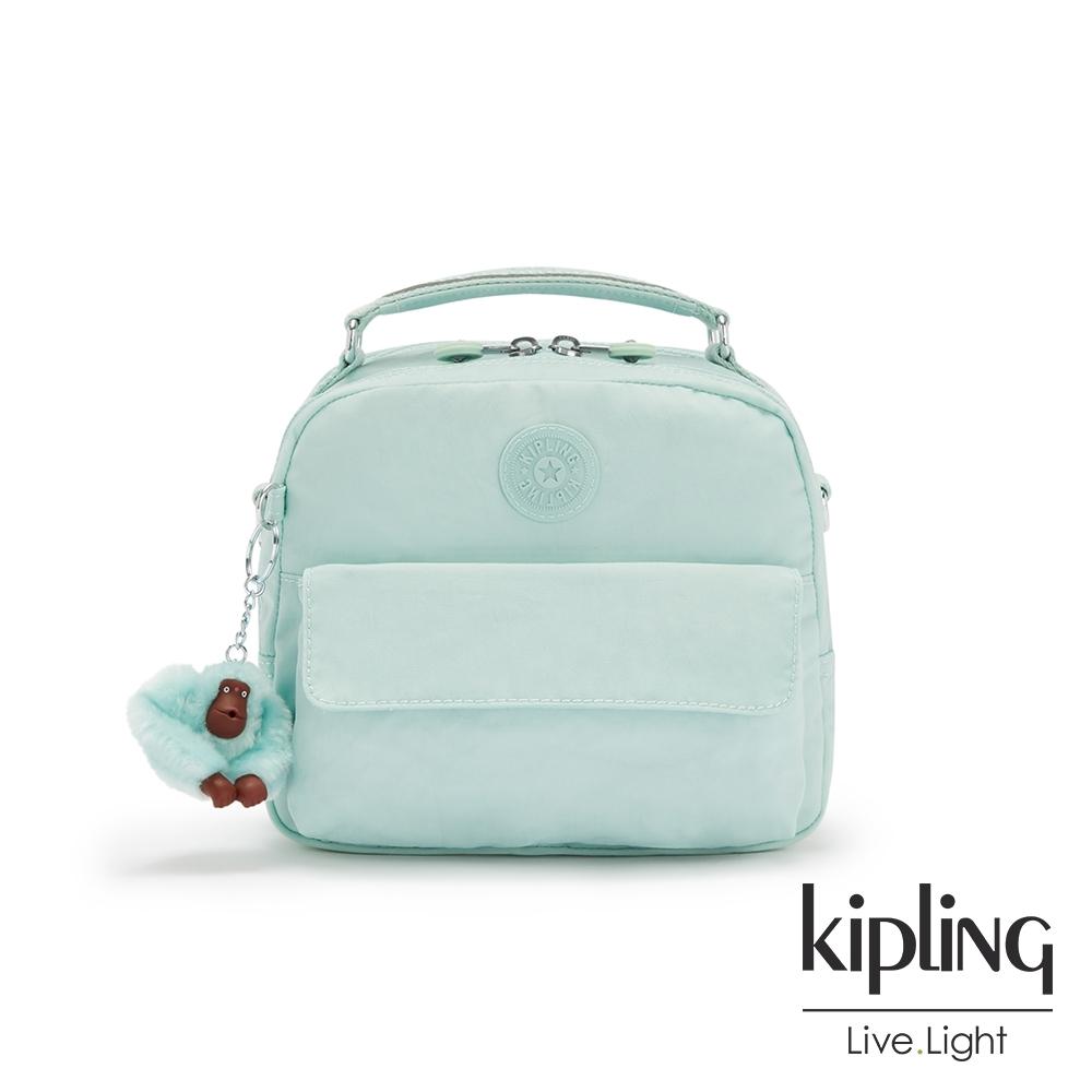 Kipling 神秘薄荷藍兩用側背後背包-CANDY