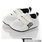 TOPUONE童鞋 輕量透氣減壓寶寶學步鞋-白