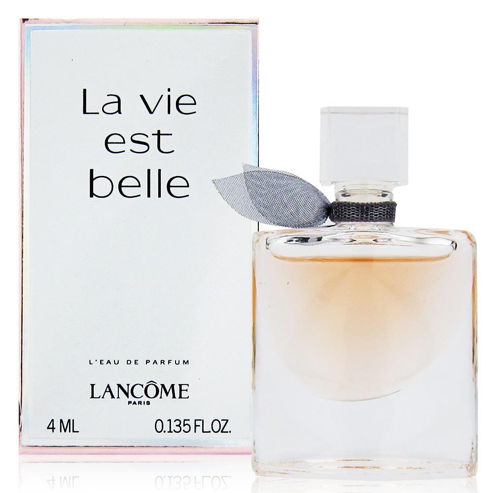 LANCOME蘭蔻 美好人生女性香水EDP 4ml(法國進口)