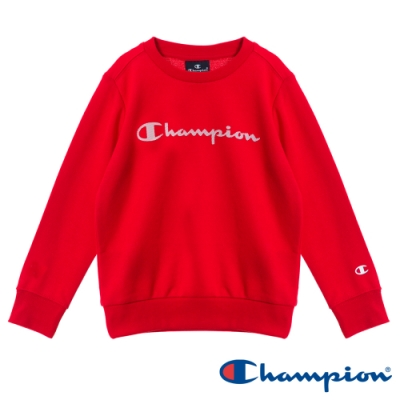 Champion EU童草寫Logo大學Tee 紅色