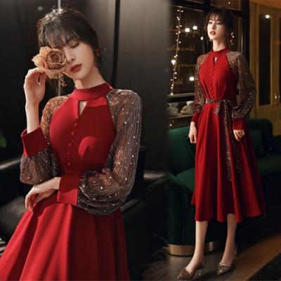 【KEITH-WILL】(預購)氣質個性耀眼織蔥高磅洋裝(共1色)
