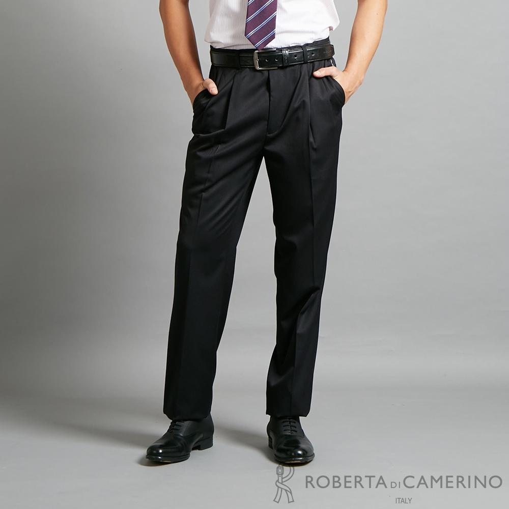 ROBERTA諾貝達 時尚高質感 職場必備西裝褲 黑色
