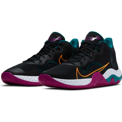 NIKE 籃球鞋 明星款 緩震 包覆 運動鞋 男鞋 黑 CK2669005 RENEW ELEVATE
