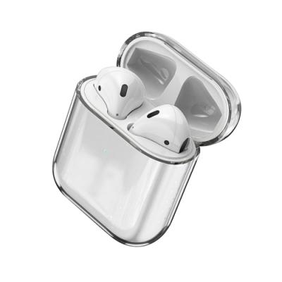 AirPods 1/2 通用款 透明藍牙耳機保護套
