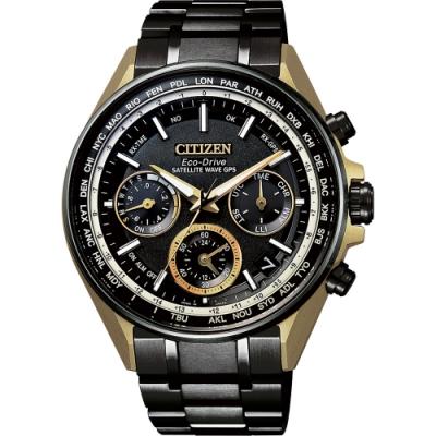 CITIZEN 星辰 光動能 鈦 GPS衛星對時手錶-44mm(CC4004-66E)