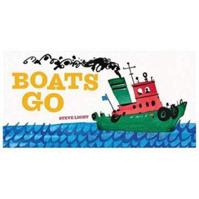 Boats Go! 船隻出航! 硬頁書