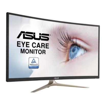 ASUS VA327H 32 型曲面電競電腦螢幕