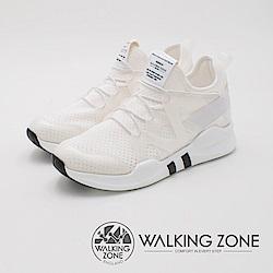 WALKING ZONE 運動慢跑休閒 女鞋-白(另有黑)
