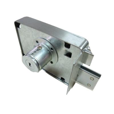 LJ003 BIRD 不鏽鋼四段鎖 四段鎖 工字型鑰匙 白鐵單開 連體式四段鎖 隱藏式門鎖
