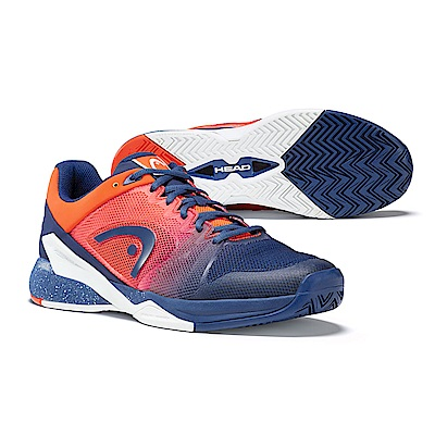 HEAD Revolt Pro 2.5 男網球鞋-藍/火焰橘 273008