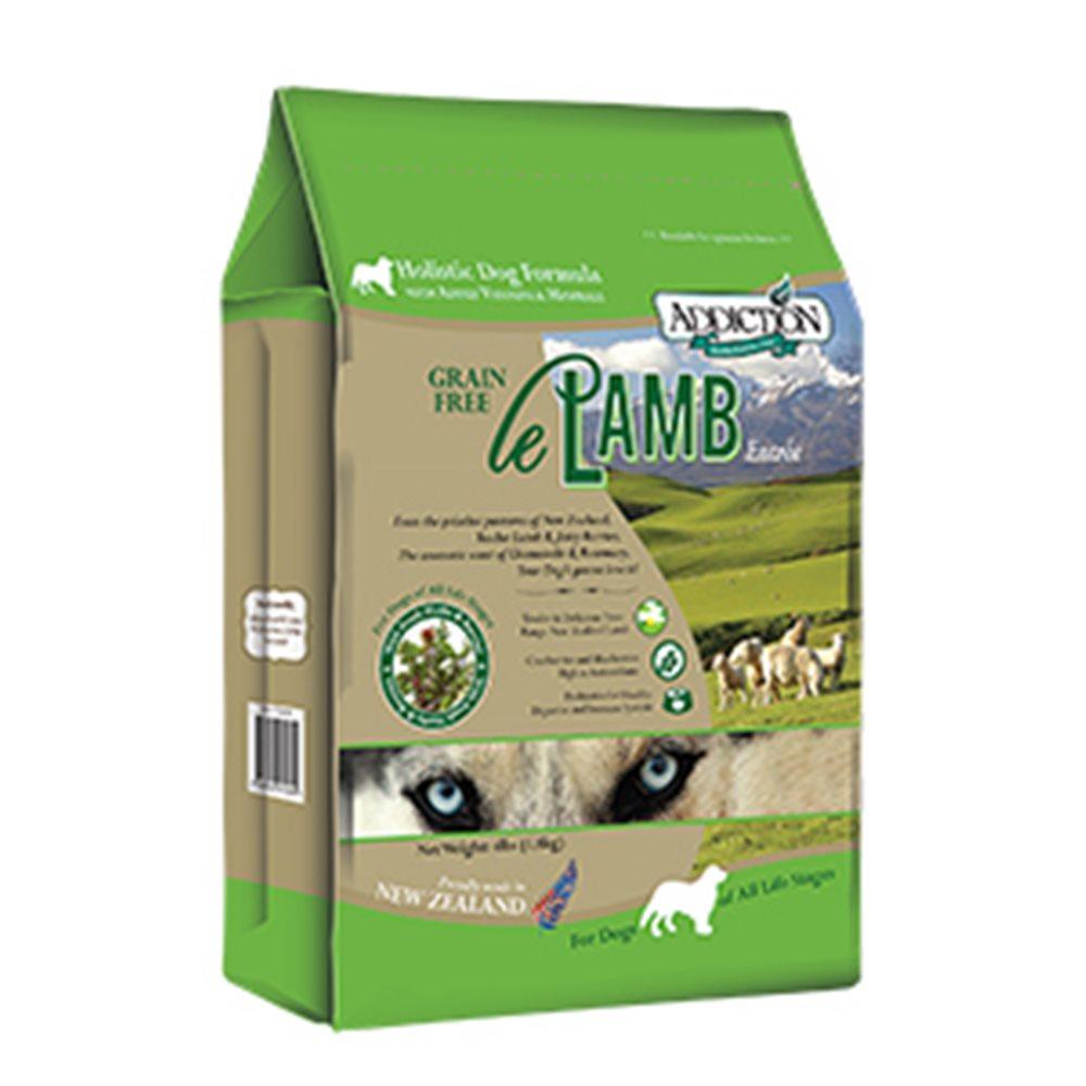 Addiction自然癮食 無穀野牧羊肉寵食犬糧 454G 兩包組