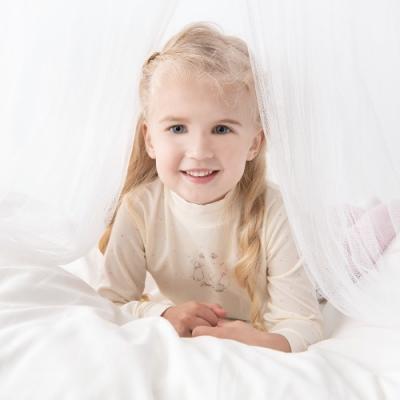 奇哥 超細蜜粉極暖布高領衫-星星 (2-4歲)