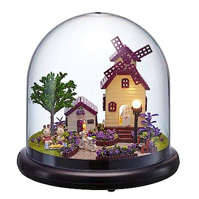 半島良品 DIY微景觀LED燈精緻小屋- 普羅旺斯