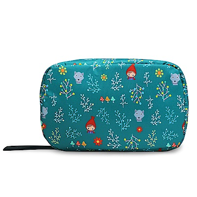 murmur旅行收納三摺盥洗包│小紅帽綠